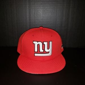 New York Giants Fitted, in Red